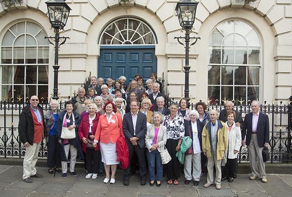Gruppenbild der Yorkfahrt 2013